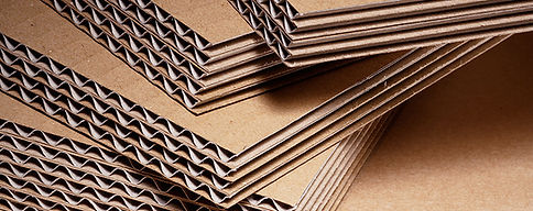 Corrugated Cardboard Fogli 3 Three Flute Cartone Tripla onda cch 13,5 mm