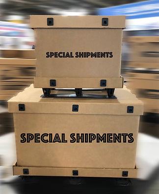 big box cardboard special shipment