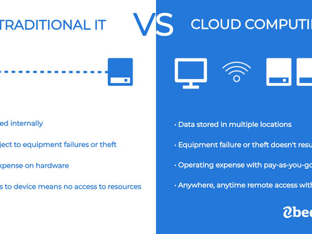 What's the Difference Between Traditional IT and Cloud Computing?