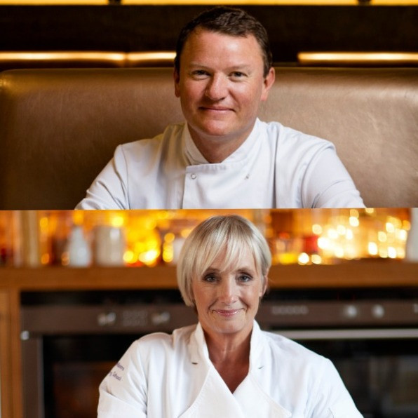 Michelin Star Celebrity Chef Theo Randall and Lesley Waters