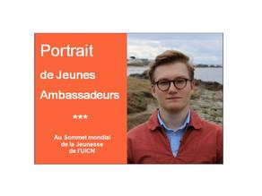 Anatole, Jeune Ambassadeur pour l'Environnement au Sommet mondial de la Jeunesse de l'UICN