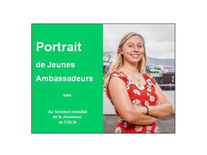 Joséphine, Jeune Ambassadrice pour l'Environnement au Sommet mondial de la Jeunesse de l'UICN