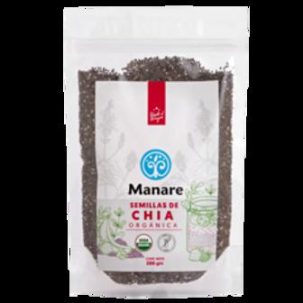 Semillas de chía orgánica Manare