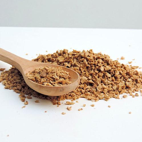 Carne vegetal de soya fina SIN TRANGENICOS Positv