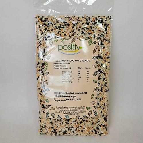 Sésamo mix  natural-tostado-negro Positiv (100gr)