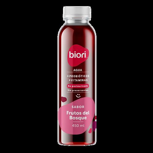Agua Probiótica Biori sabor frutos rojos (450ml)
