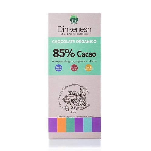 Chocolate orgánico 85% de cacao