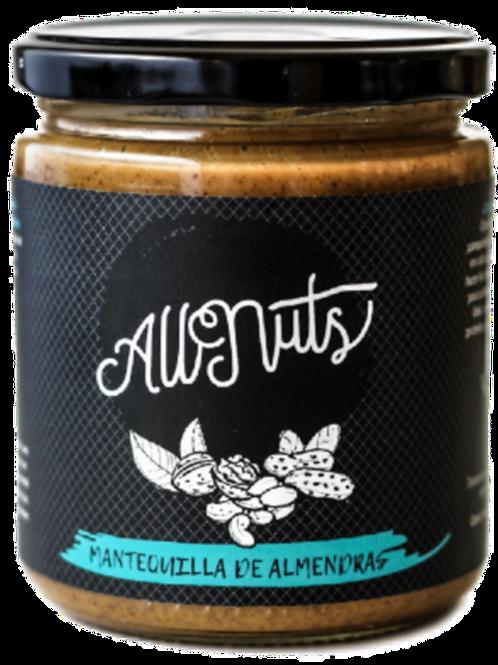 Mantequilla de almendras Allnuts (450grs)
