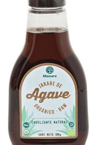Jarabe de agave orgánico raw Manare (330gr)