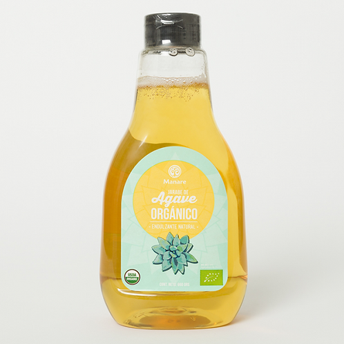 Jarabe de agave orgánico Manare (660gr)