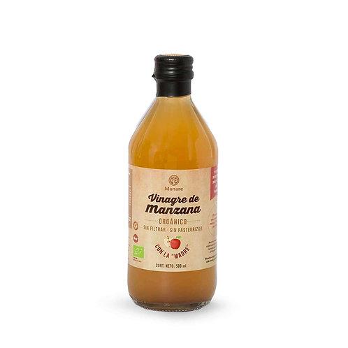 Vinagre de manzana orgánico