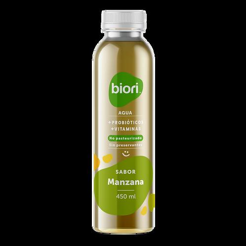 Agua probiótica Biori sabor Manzana (450ml)