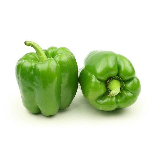 Pimentón verde  orgánico