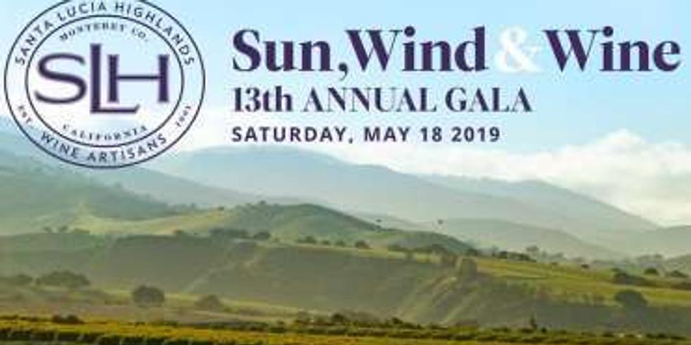 Santa Lucia Highlands SUN, WIND & WINE GALA