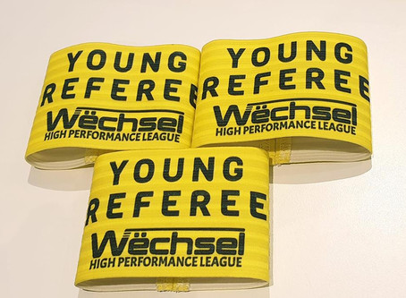 Young Referee Armbands Available Now!