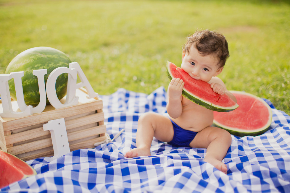 A Watermelon Birthday