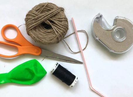 Balloon Zip-Line Experiment
