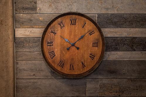 Barrel Head clock