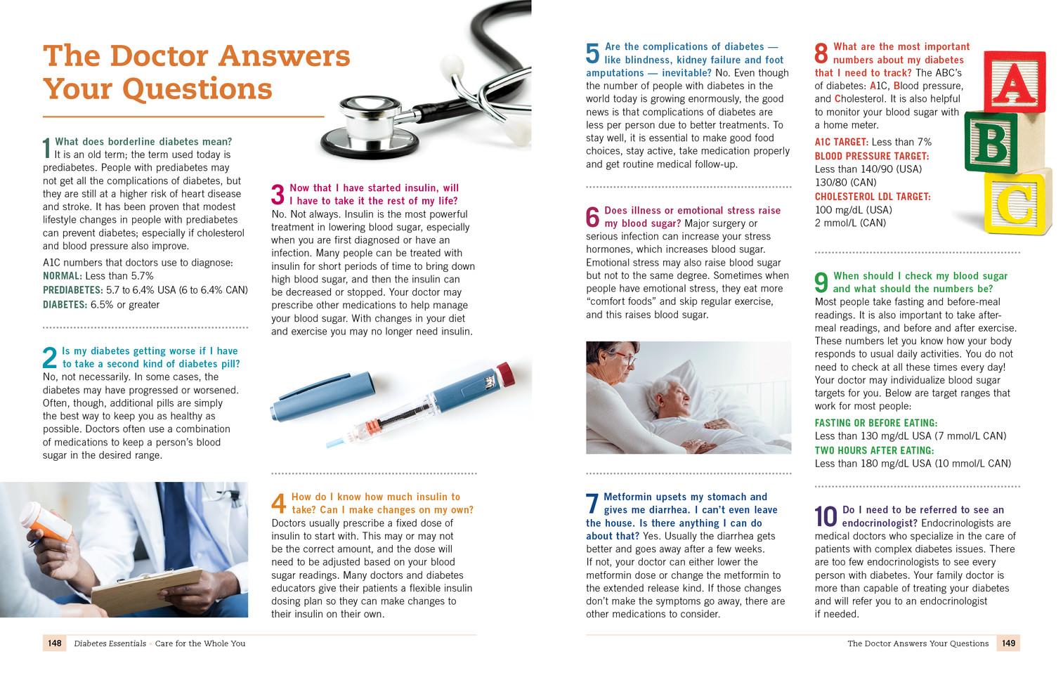 Diabetes Doctors Answers