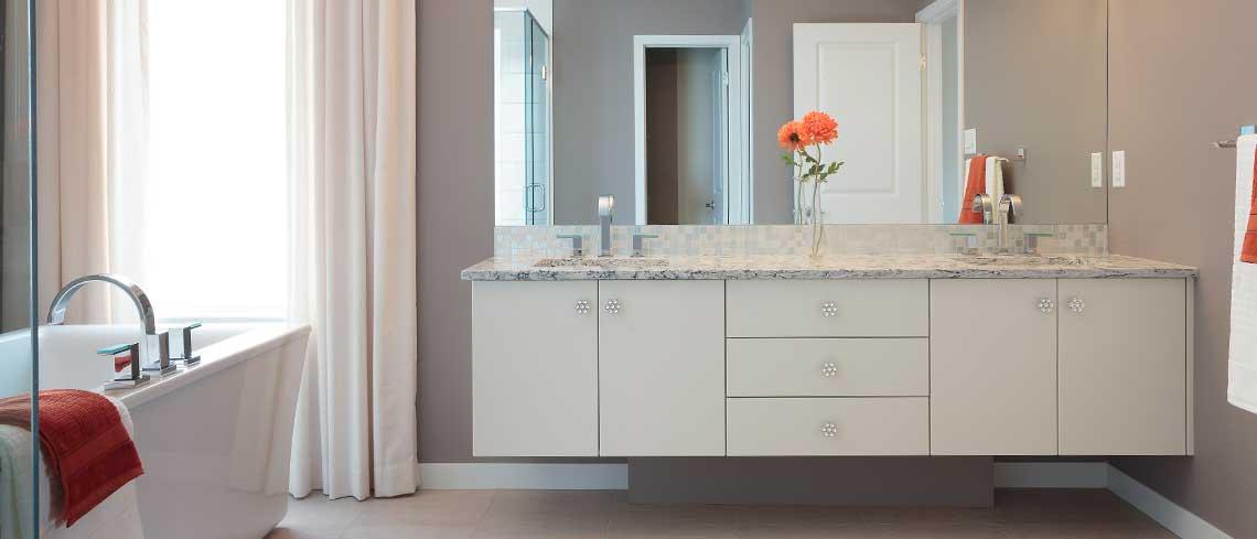 Bathroom Design custom cabinet