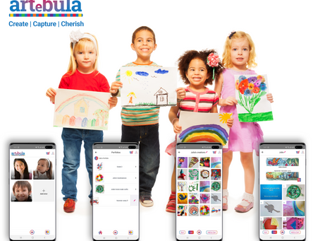New App Artebula Captures Children's Creativity Without the Clutter