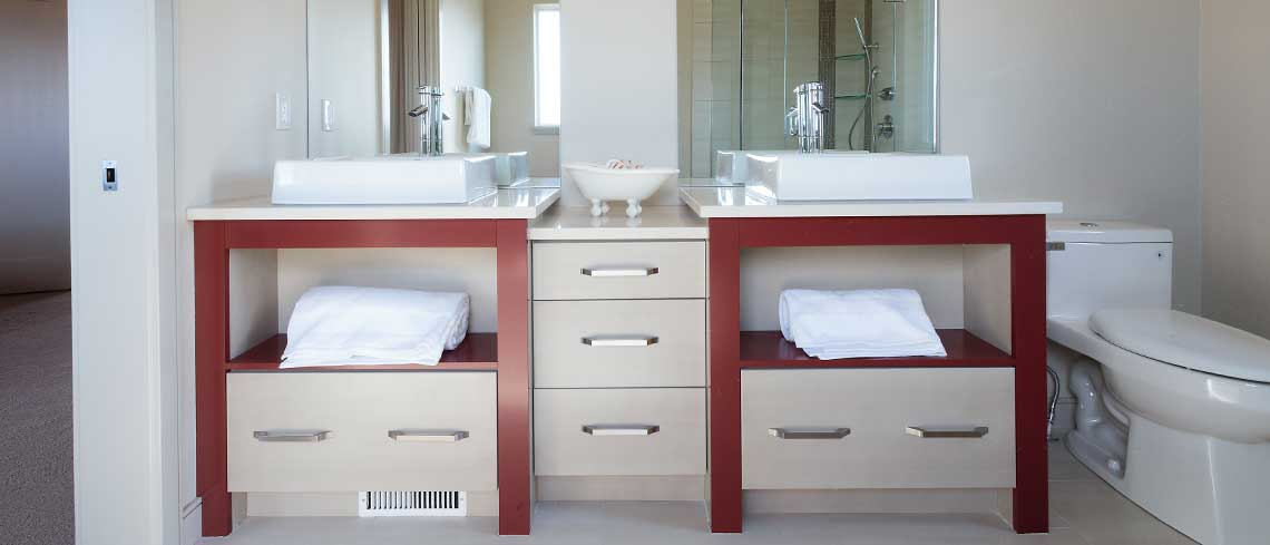 custom bathroom cabinets oakville