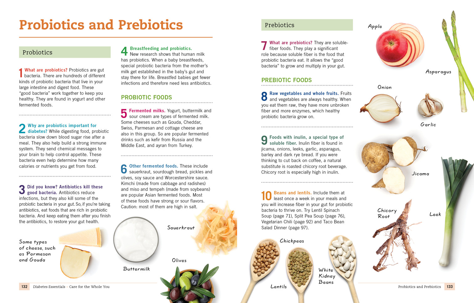 Diabetes Probiotics and Prebiotics
