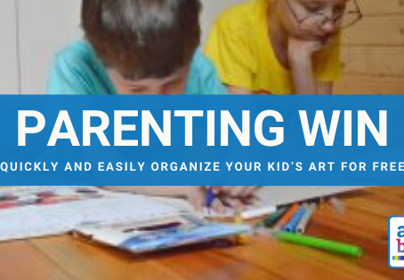 Parenting Win :: How to Quickly and Easily Organize Your Kid's Art for FREE with the Artebula App