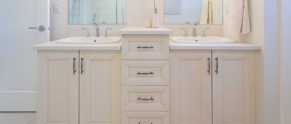 Affordable Bathroom Cabinet Design