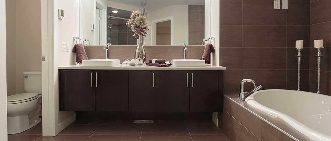 Contemporary Bathroom Oakville