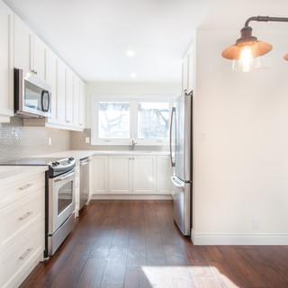 custom white kitchen