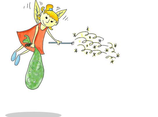 magic pacifier fairy