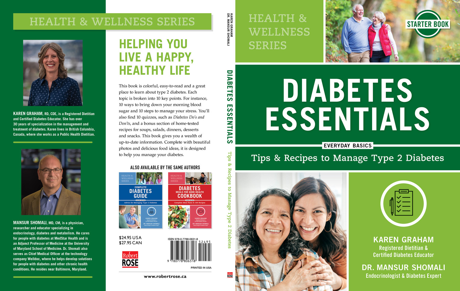 Diabetes Essentials Front & Back Cover