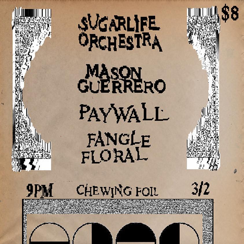 Chewing Foil presents: L.A. Drones / Cult 45 / Telenerve / Doll Klaw / Mason Guerrero (1)