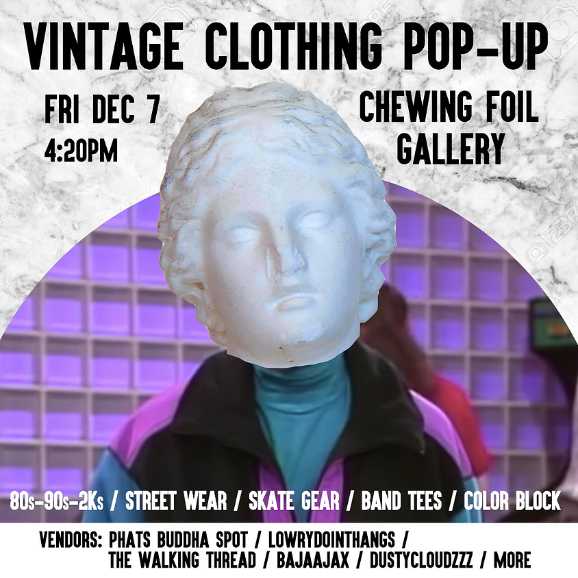 Vintage Clothing Pop-up