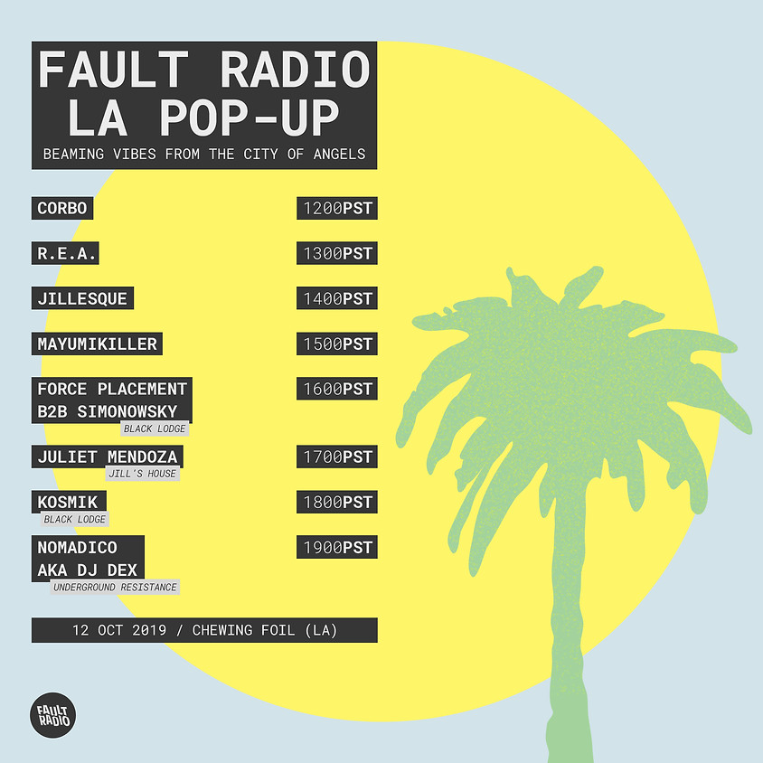 Fault Radio LA Pop-up