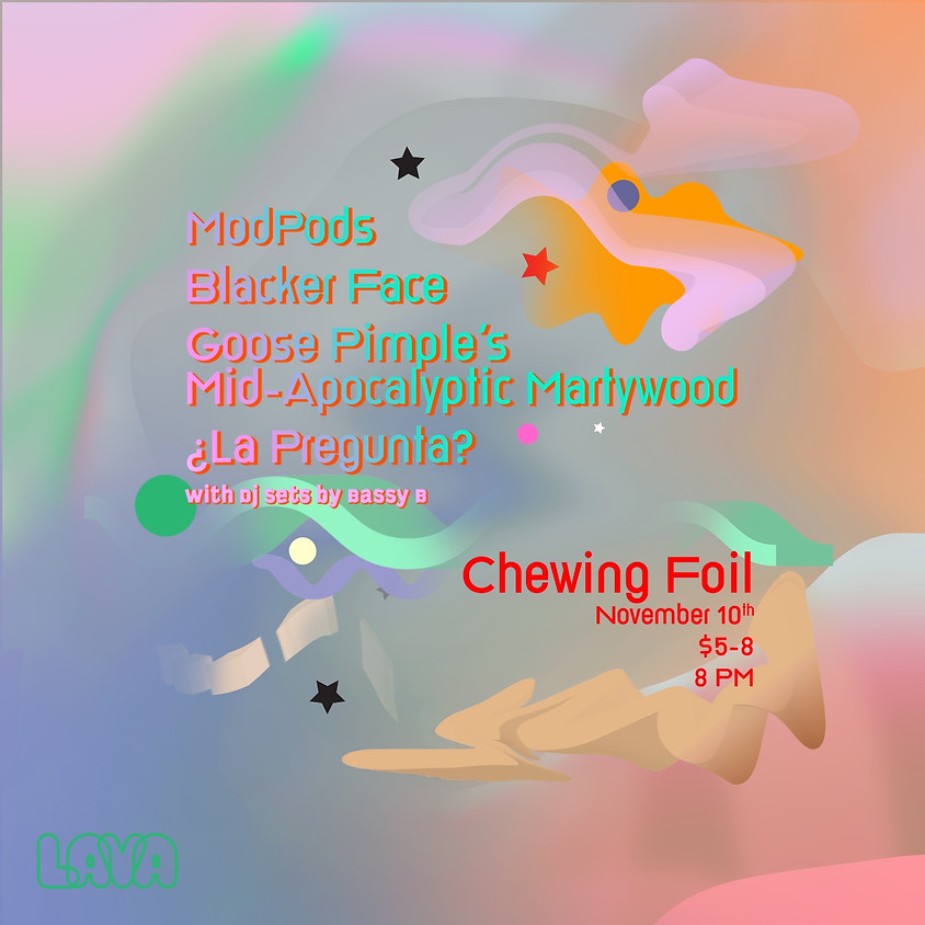 Chewing Foil Halloween Party