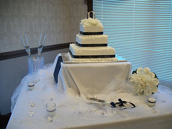 Picture of a Wedding Cake