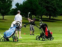 Junior Golfer's at #12 Tee