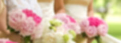 Brides holding a bouquet