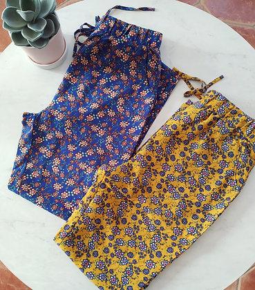 Pantalon fleuries
