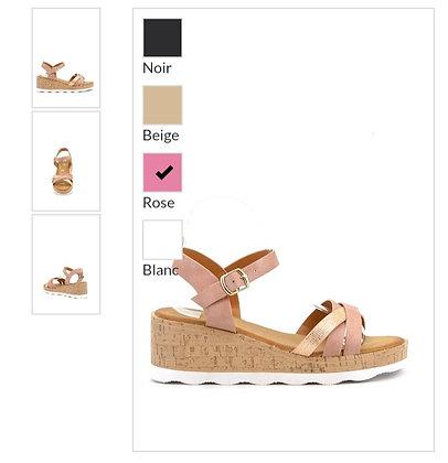 Sandales compensé