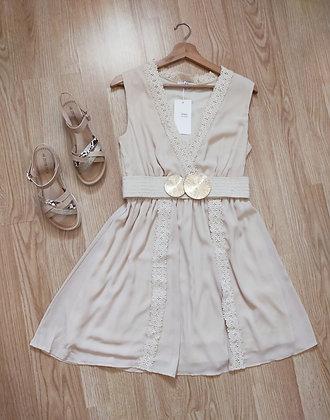 Robe beige