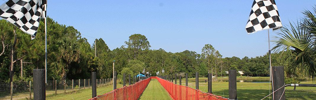 Fresh cut track
