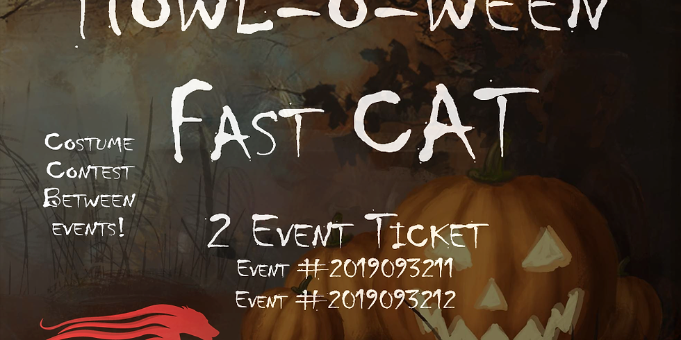 Howl-o-ween FCAT (Two Event Ticket )