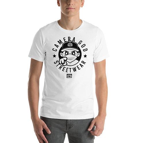 Camera God Mascot street wear Short-Sleeve Unisex T-Shirt