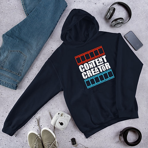 Content Creator Vibrant Unisex Hoodie