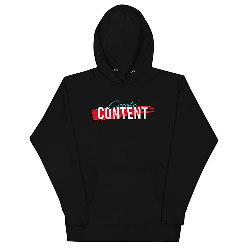 CG Create Content Unisex Hoodie