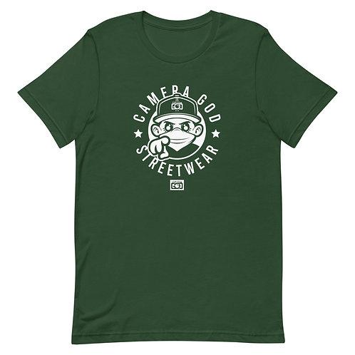 Camera God Mascot Street Wear#2 Short-Sleeve Unisex T-Shirt