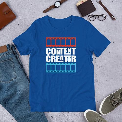 Content Creator Short-Sleeve Unisex T-Shirt
